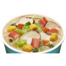 Zupa - makaron Nissin Cup Noodles - owoce morza