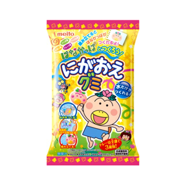 Meito Nigaoe Gummy Hanakappa