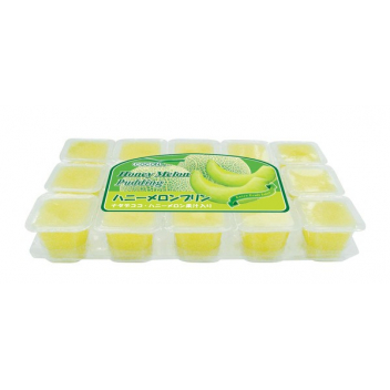 Nata De Coco Pudding Mini - melon 1 szt.