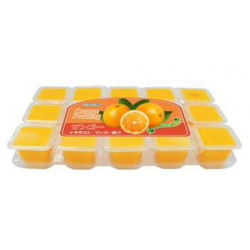 Nata De Coco Pudding Mini - pomarańcza 1 szt.