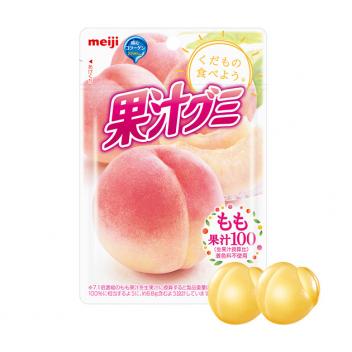 Żelki Meiji Juice Gumi - brzoskwinia
